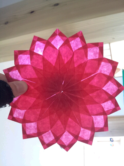 すべての折り紙 折り紙で作るバラ : ★なかむらやのFacebookページ が ...