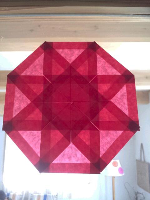 すべての折り紙 折り紙お花の折り方簡単 : ... 簡単アサガオ、葉っぱの折り方
