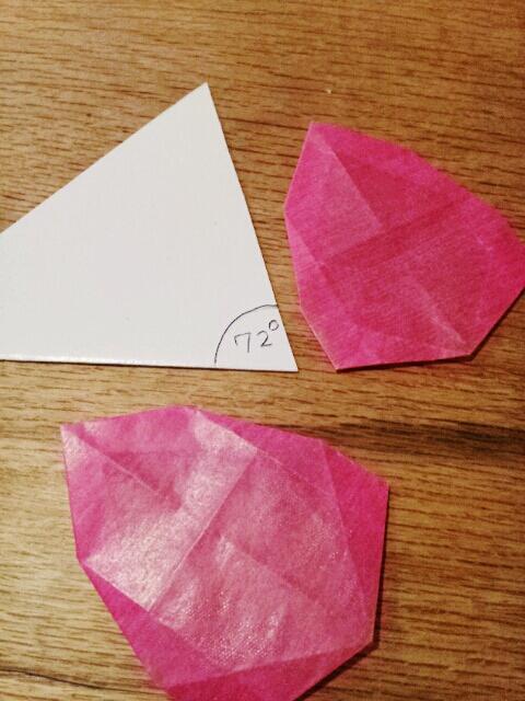 すべての折り紙 桜 花びら 折り紙 : ... 折り紙/桜) | トランスパ